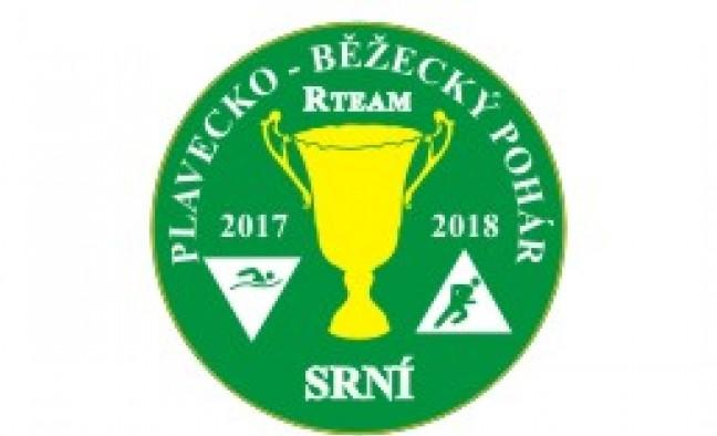závod Plavecko-běžeckého poháru 2017 - 2018