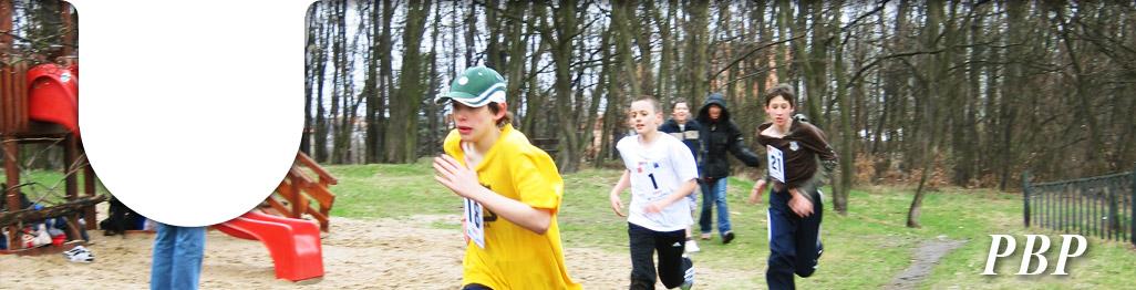 PB pohár běhání